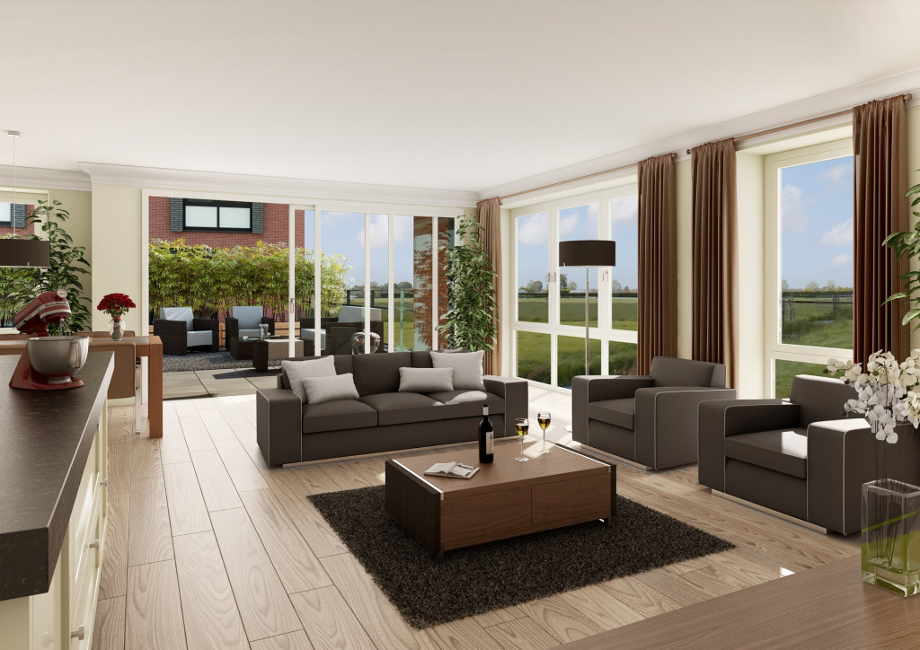 Lange Woonkamer Inrichten. Beautiful Lange Smalle Keuken Inrichten ...